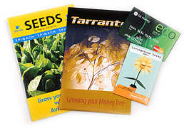 Seed Packs - Recycled Paper